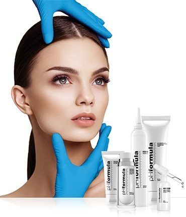 Skin resurfacing treatments products